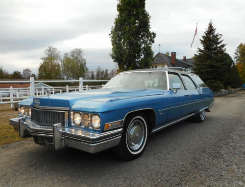 1972 Cadillac Fleetwood Estate Wagon SOLGT