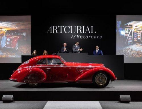 Crazy priser på Retromobile auksjonene!