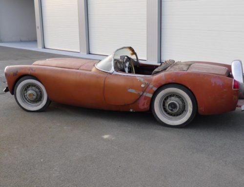 Høres Woodill ukjent ut? Her er historien om en av de første amerikanske sportsbilene.