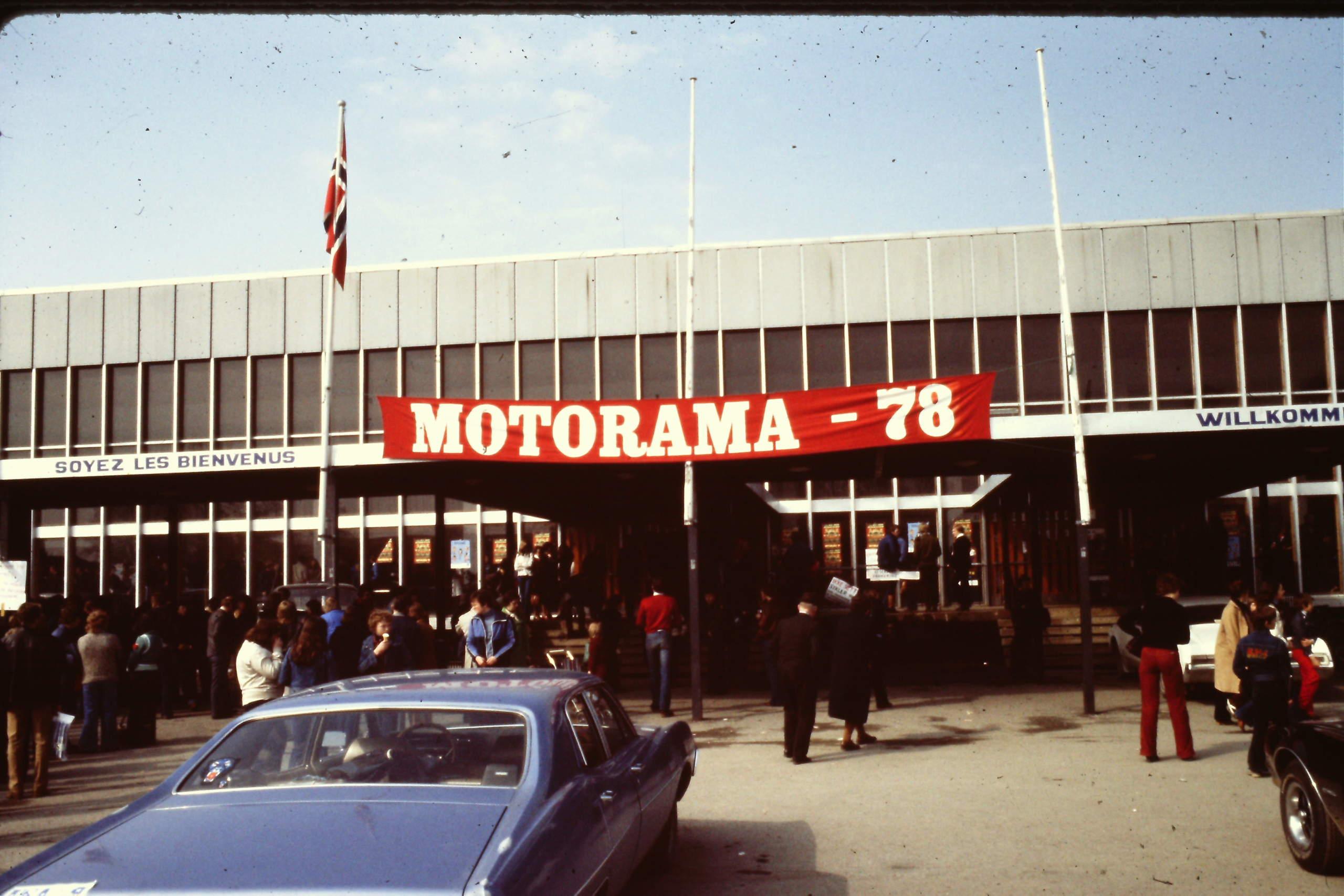 Motorama 1978 Amcar utstilling i Trondheim Classic Garage as