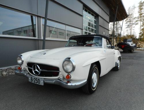 1961 Mercedes-Benz 190 SL  – tilsalgs etter 32 år i samme familie!
