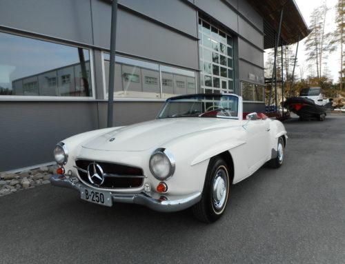 1961 Mercedes Benz 190 SL- Kr 860.000,- en eier siste 32 år