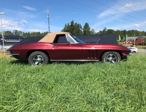 1965 Chevrolet Corvette Convertible – Kr 469.000,-