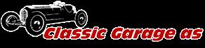 Classic Garage as Logo