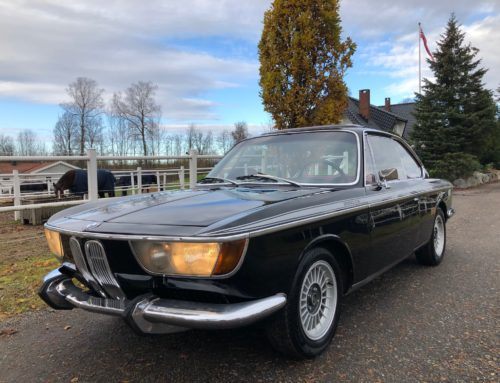 1968 BMW 2000 CS – Kr 279.000,-