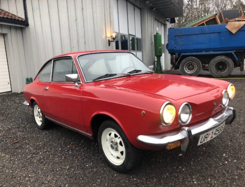 1972 Fiat 850 Sport Coupe – SOLGT