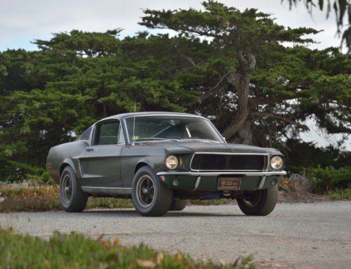 Steve McQueens Bullitt Mustang solgt for 3,4 millioner dollar i kveld!