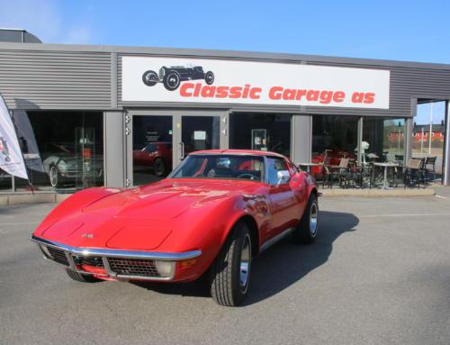 1971 Chevrolet Corvette C3 – uskrudd og fin bil Kr 269.000,-