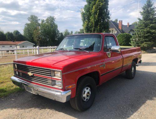1984 Chevrolet Scottsdale rustfri SOLGT
