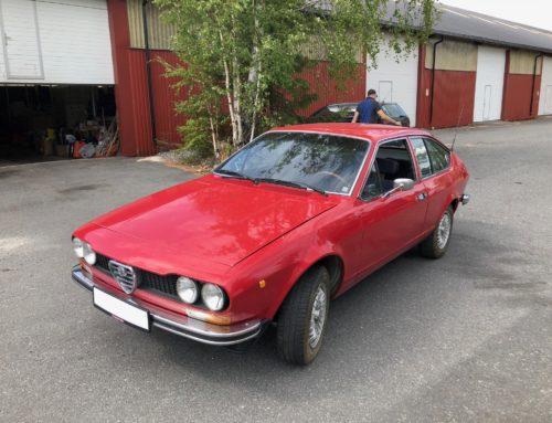 Prosjektbil – 1975 Alfa Romeo Alfetta GT SOLGT