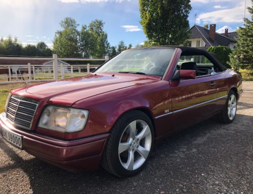 1994 Mercedes Benz E200 Convertible SOLGT