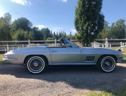 Vår fineste Corvette noensinne!