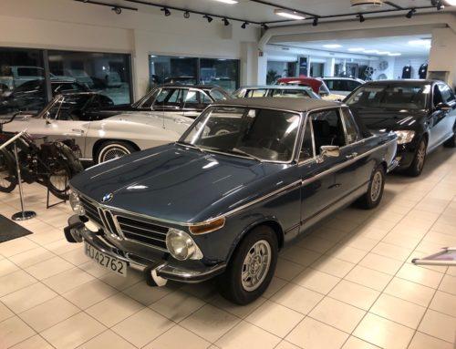 1971 BMW 2002 Baur Targa/Convertible – Kr 339.000,-