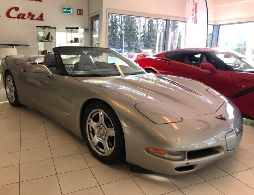 1998 Chevrolet Corvette C5 Convertible – Kr 229.000,-