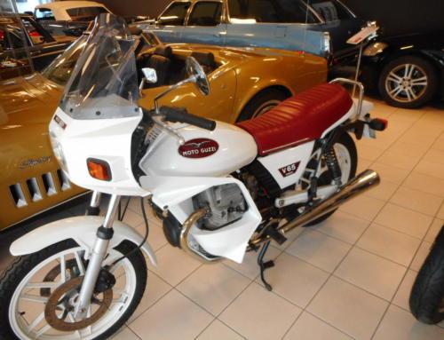 1983 Moto Guzzi V65 – Kr 44.000,-