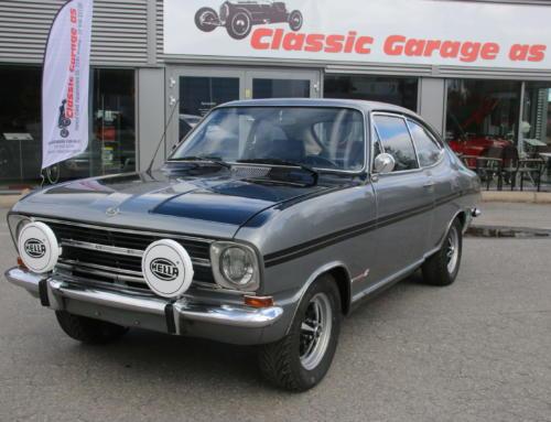 "1968 Opel Kadett LS 1100 – ""Rallye Kadett Kopi"" – Kr 99.000,-"