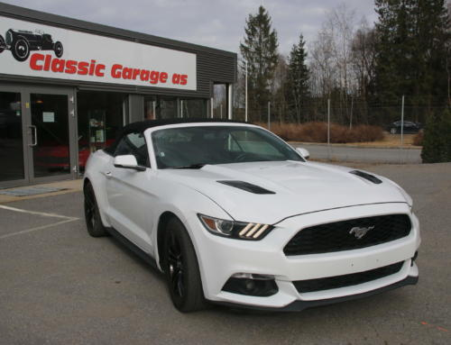 2016 Ford Mustang Premium Convertible  2.3 Ecoboost – automat Kr 469.000,-