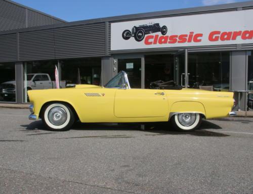 1955 Ford Thunderbird – Goldenrod Yellow – SOLGT!