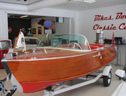 1960 Century Palomino m/1959 70 hk Mercury – SOLGT!