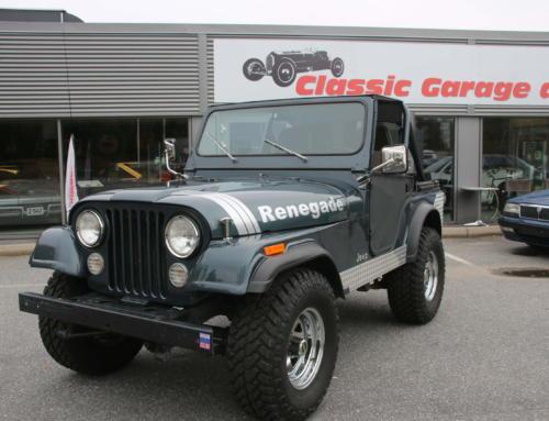 1977 Jeep CJ5- hel og fin – Kr 159.000,-